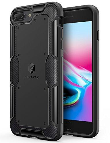 cheaper 323a1 2c0f8 Original Anker KARAPAX Shield Phone Case Soft TPU With Carbon Texture for  iPhone 7 Plus / iPhone 8 Plus
