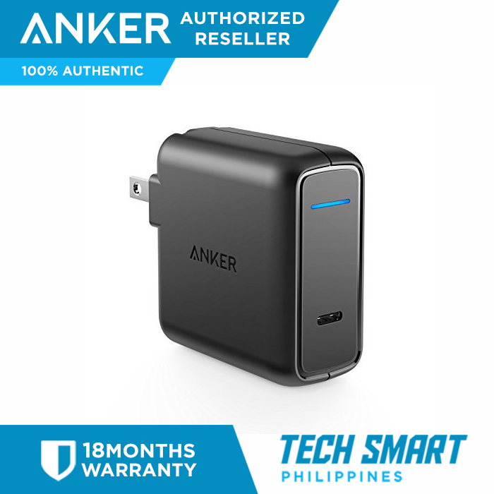 info for bdbe3 653f1 Original Anker USB Type-C with Power Delivery (PD) 30W USB Wall Charger  Fast Charger for iPhone X / 8 / 8 Plus / Macbooks etc.
