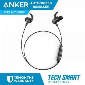 ce8b2d00ef56db Anker SoundBuds Slim+ Bluetooth Earphones Wireless Sport Headphones with  Magnetic Connector Built-in Mic and Carry Case